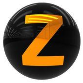 Bal avec la lettre z — Photo