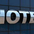 Stock Photo: Hotel sign