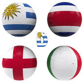 D group of the World Cup — Stock Photo