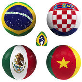 A group of the World Cup — Stock Photo