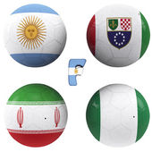 F group of the World Cup — Stock Photo