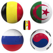 H group of the World Cup — Stock Photo