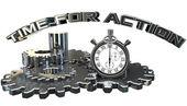 Tiempo para la acción — Foto de Stock