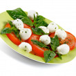 Italian Caprese Salad - Foto Stock