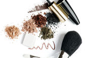 Make up in brown — Stock Photo