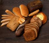 Arrangement of Various Bread — Stock Photo