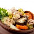 Hearty Vegetable and Chicken Stew — Stock Photo