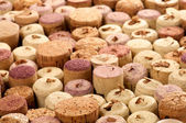 Background of Old Wine Corks — Stock Photo