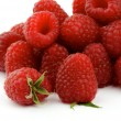 Heap of Perfect Ripe Raspberries - Foto Stock