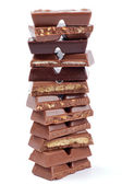 Chocolate Blocks — Stock Photo