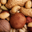 Various Nuts Background - Stock Photo