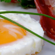 Stock Photo: Fried Eggs Sunny Side Up
