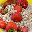 Strawberries with Flakes - Lizenzfreies Foto