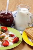 Village Breakfast — Stock Photo