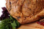 Glazed Roasted Pork — Stock Photo