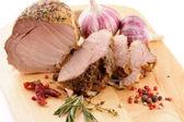 Roasted Pork Chop — Stock Photo