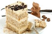 Rum Cream Cake — Stock Photo