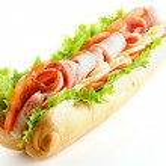 Big Tasty Baguette Sandwich — Stock Photo #14101988