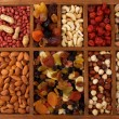 Stock Photo: Dried Fruits and Nuts