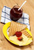 朝食セット — ストック写真