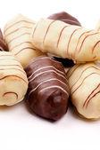 Chocolate Eclairs — Stock Photo