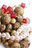 Smycken och pearl — Stockfoto