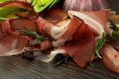 Slices of Jamon — Stock Photo