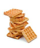 Belgian Waffle — Stock Photo