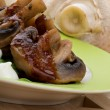 Stock Photo: Cooked Champignons