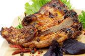 Barbecue Pork Ribs — Stock Photo