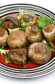 Roasted Mushrooms — Stock Photo
