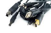 Plugs and Jacks — Stock Photo