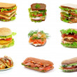 Sandwiches Collection — Stock Photo #21992237