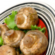Roasted Mushrooms — Stock Photo #21992293