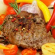 Roasted Beef - Stock Photo