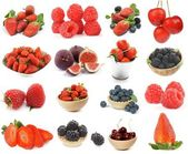 Collection of Berries — Stock Photo
