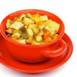 Stock Photo: Vegetables and Chicken Ragout