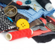 Foto Stock: Sewing Items