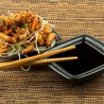Chicken Teriyaki — Stock Photo