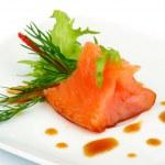 Salmon Snack — Stock Photo #25421843