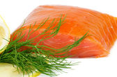 Smoked Salmon — Fotografia Stock