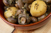 Mushroom and Potato Stew — Stock Photo