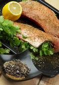 Preparing Redfish — Stock Photo