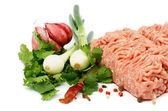 Mleté maso — Stock fotografie