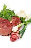 Boneless Raw Pork — Stock Photo