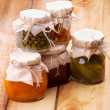 Homemade Preserves — Stock Photo