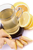 Ginger and Lemon Tea — Stock Photo