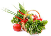 Vegetable Basket — Stockfoto