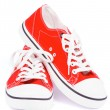 Red Gym Shoes — Stock Photo #30524991