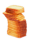 Stack of Crackers — Stockfoto